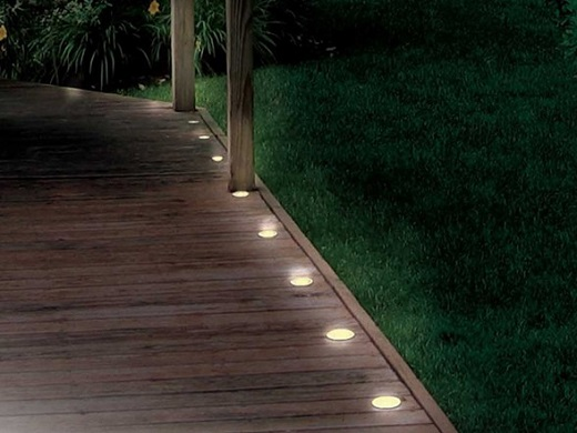 Tonbridge Decking Lights