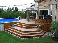 Installing A Deck Area Will Improve The Aesthetics Of Your Garden, Creating  A Smart And Easy To Care For Area Ideal For Use In The Summer Months.