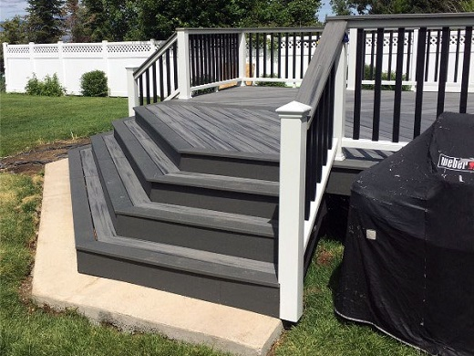 Tonbridge Deck Stairs and Steps Design