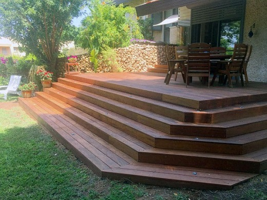 Tonbridge Tonbuild Decking. Steps and Stairs